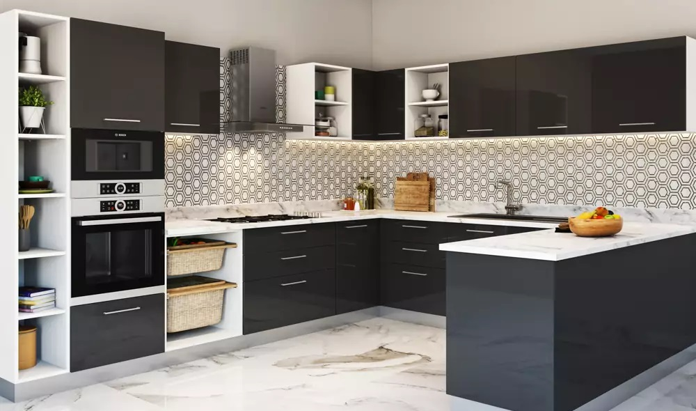 Boost the good factor about Your House by utilizing Black Cabinets