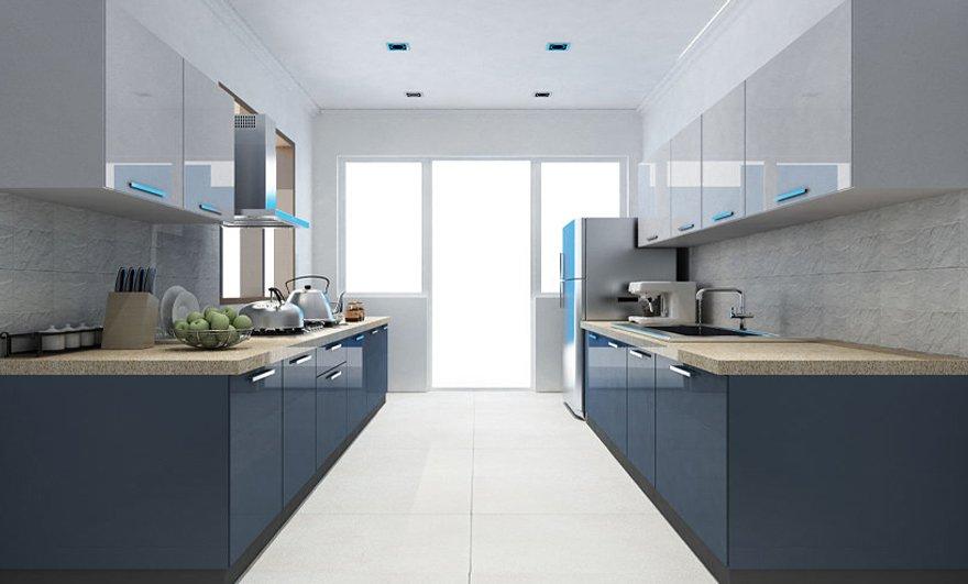 Basic steps involved in designing modular kitchen