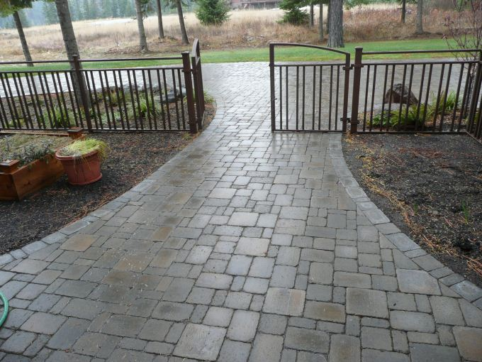 What are the benefits of constructing concrete pavers?