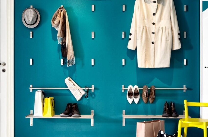 Home Organization Hacks with Hooks and Hangers