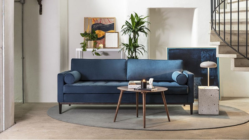 Planning to buy a Crushed Velvet Sofa? Here's how you can do that