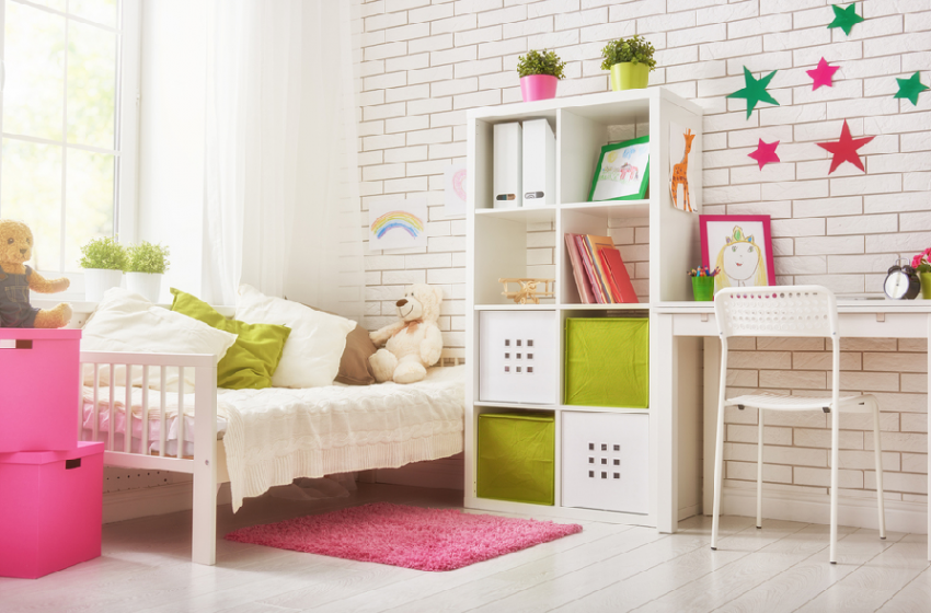 Top Tips To Save Space When Your Kids Share a Room
